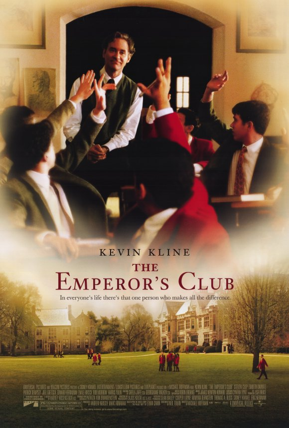 the emperors club Speaks to the human emotion of disappointment when we have failed someone we love and who loves us extend this to god when we fail to live faithful lives, choosing other gods and othe.