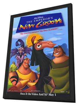 Emperor's New Groove, The - 27 x 40 Movie Poster - Style A - in Deluxe Wood Frame