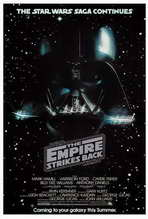 The Empire Strikes Back - 27 x 40 Movie Poster - Style G