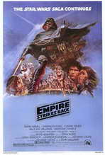 The Empire Strikes Back - 27 x 40 Movie Poster - Style B