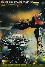 The Empire Strikes Back - 27 x 40 Movie Poster - Polish Style A