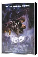 The Empire Strikes Back - 11 x 17 Movie Poster - Style A - Museum Wrapped Canvas