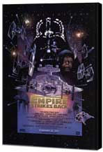 The Empire Strikes Back - 27 x 40 Movie Poster - Style A - Museum Wrapped Canvas