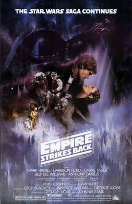 The Empire Strikes Back - 11 x 17 Movie Poster - Style A