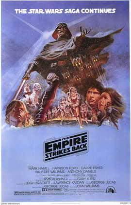 The Empire Strikes Back - 11 x 17 Movie Poster - Style F
