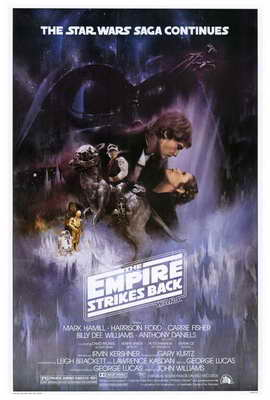 The Empire Strikes Back - 27 x 40 Movie Poster - Style A