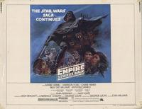 The Empire Strikes Back - 22 x 28 Movie Poster - Half Sheet Style A