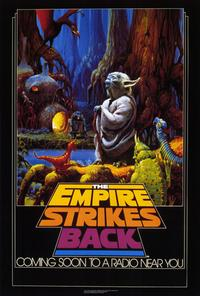 The Empire Strikes Back - 27 x 40 Movie Poster - Style F