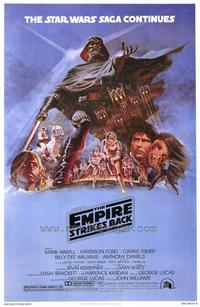 The Empire Strikes Back - 43 x 62 Movie Poster - Bus Shelter Style A