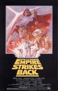 The Empire Strikes Back - 11 x 17 Movie Poster - Style N