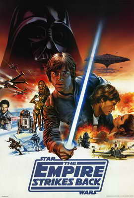 The Empire Strikes Back - 27 x 40 Movie Poster - Style C