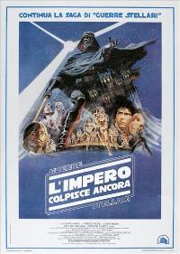 The Empire Strikes Back - 27 x 40 Movie Poster - Italian Style A