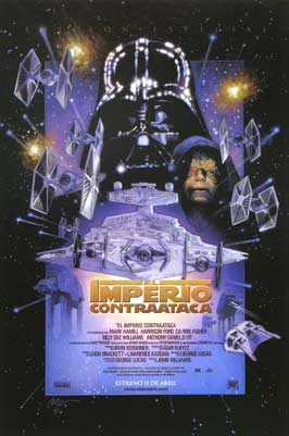 The Empire Strikes Back - 27 x 40 Movie Poster - Spanish Style A
