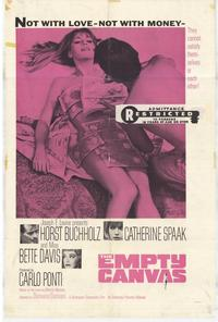 The Empty Canvas - 27 x 40 Movie Poster - Style A