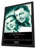 The Enchanted Cottage - 11 x 17 Movie Poster - Style A - in Deluxe Wood Frame