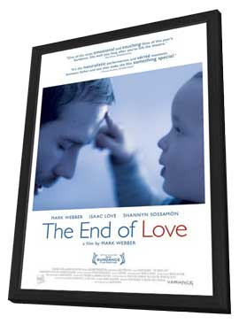 The End of Love - 11 x 17 Movie Poster - Style A - in Deluxe Wood Frame