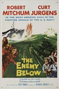 The Enemy Below - 27 x 40 Movie Poster - Style A