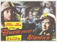 The Enemy Below - 11 x 17 Movie Poster - Spanish Style A