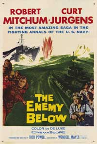 The Enemy Below - 43 x 62 Movie Poster - Bus Shelter Style A