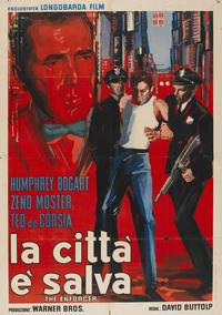Enforcer, The - 11 x 17 Movie Poster - Italian Style I