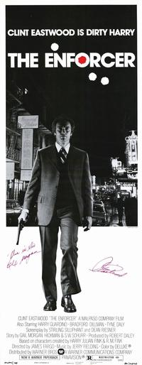 The Enforcer - 14 x 36 Movie Poster - Insert Style A