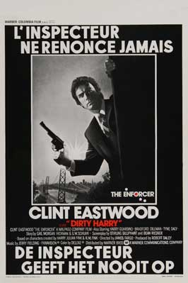 The Enforcer - 27 x 40 Movie Poster - Belgian Style A