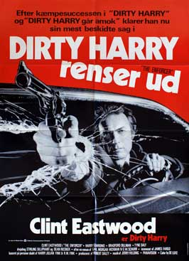 The Enforcer - 27 x 40 Movie Poster - Danish Style A