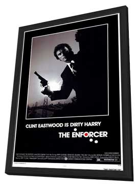 The Enforcer - 11 x 17 Movie Poster - Style A - in Deluxe Wood Frame