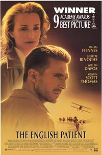 The English Patient - 43 x 62 Movie Poster - Bus Shelter Style A