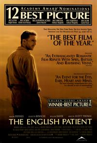 The English Patient - 27 x 40 Movie Poster - Style C