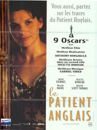 The English Patient - 43 x 62 Movie Poster - French Style A