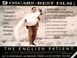 The English Patient - 30 x 40 Movie Poster UK - Style A