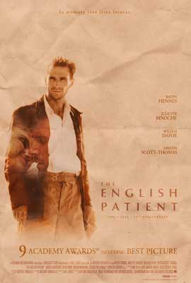 The English Patient - 43 x 62 Movie Poster - Bus Shelter Style B