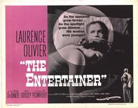 The Entertainer - 22 x 28 Movie Poster - Half Sheet Style A