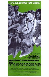 The Erotic Adventures of Pinocchio - 11 x 17 Movie Poster - Style B