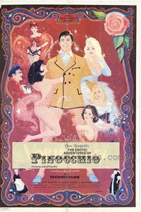 The Erotic Adventures of Pinocchio - 27 x 40 Movie Poster - Style C