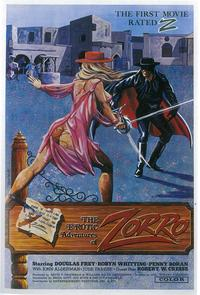 The Erotic Adventures of Zorro - 27 x 40 Movie Poster - Style A