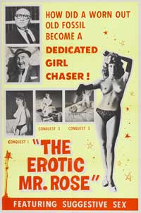 The Erotic Mr. Rose - 43 x 62 Movie Poster - Bus Shelter Style A