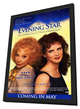 The Evening Star - 11 x 17 Movie Poster - Style B - in Deluxe Wood Frame