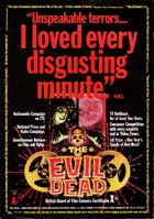 The Evil Dead - 27 x 40 Movie Poster - UK Style B