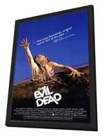 The Evil Dead - 11 x 17 Movie Poster - Style A - in Deluxe Wood Frame
