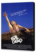 The Evil Dead - 11 x 17 Movie Poster - Style A - Museum Wrapped Canvas