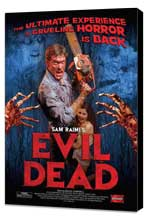 The Evil Dead - 11 x 17 Movie Poster - Style G - Museum Wrapped Canvas