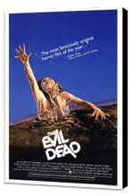 The Evil Dead - 27 x 40 Movie Poster - Style A - Museum Wrapped Canvas