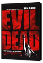 The Evil Dead - 27 x 40 Movie Poster - French Style A - Museum Wrapped Canvas