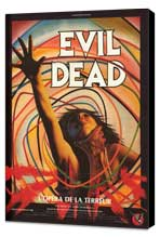 The Evil Dead - 27 x 40 Movie Poster - French Style B - Museum Wrapped Canvas
