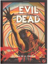 The Evil Dead - 43 x 62 Movie Poster - French Style A