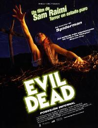 The Evil Dead - 27 x 40 Movie Poster - Spanish Style A