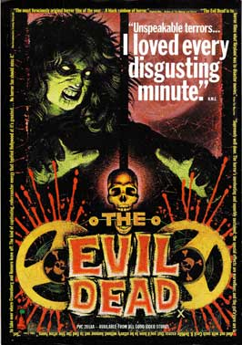 The Evil Dead - 27 x 40 Movie Poster - UK Style A