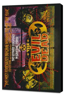 The Evil Dead - 11 x 17 Movie Poster - Style C - Museum Wrapped Canvas